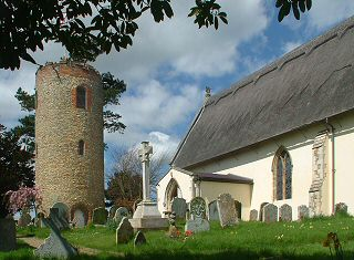 St. Andrew's Church, with detached round tower